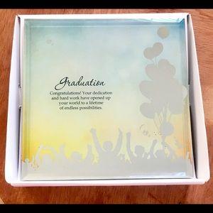 Hallmark Silver Silhouettes 'Graduation' Plaque